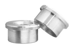Aluminiumdrehteile als Muffe für den Maschinenbau