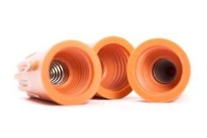 CNC-Kunststoffdrehteile als Abdeckkappen für die Elektronik
