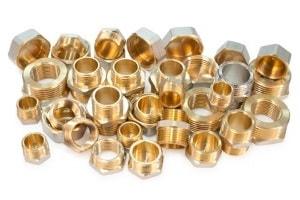 CNC-Drehteile aus Messing für die Drucklufttechnik
