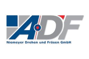 Logo der ADF Niemeyer Drehen und Fräsen GmbH aus Bordesholm