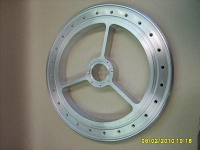 Aluminiumdrehteil von der Seiler Maschinenbau GmbH