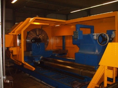 Maschinen für die Herstellung von Großdrehteilen
