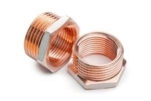CNC-Kupferdrehteile in allen Losgrößen und Formen
